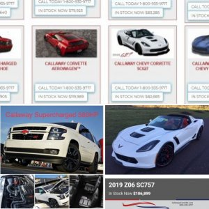 Callaway Cars and Trucks for sale | CallawayCarsUSA